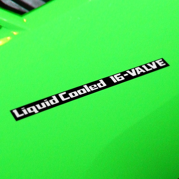 Car and Motorbike Stickers: GPZ600R, LiquidCooled