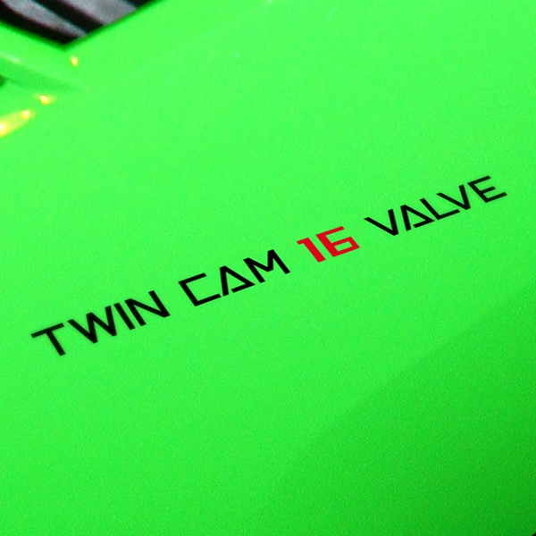 Car and Motorbike Stickers: Twin Cam