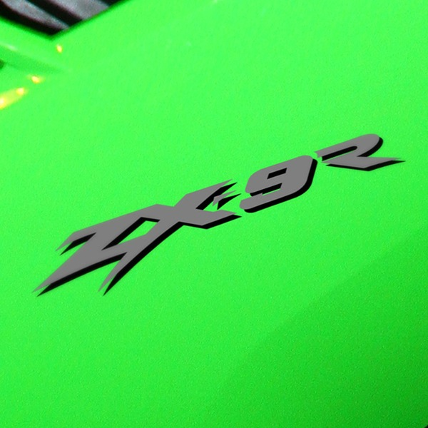 Car and Motorbike Stickers: ZX9R