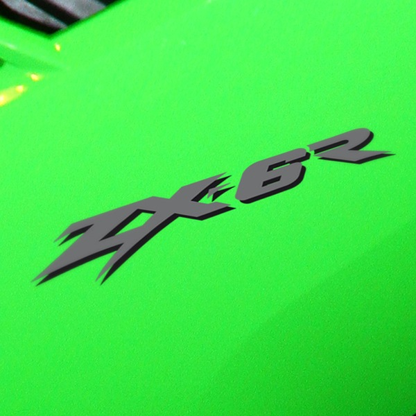 Car and Motorbike Stickers: ZX6R