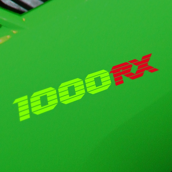 Car and Motorbike Stickers: GPZ1000RX, 1000RX