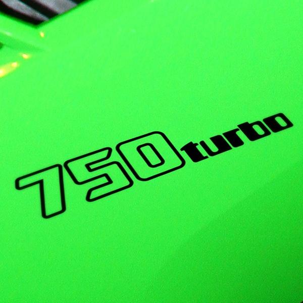 Car and Motorbike Stickers: GPZ-750-Turbo-1985, 750-turbo