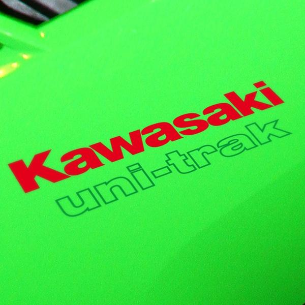 Car and Motorbike Stickers: GPZ, Kawasaki uni-trac