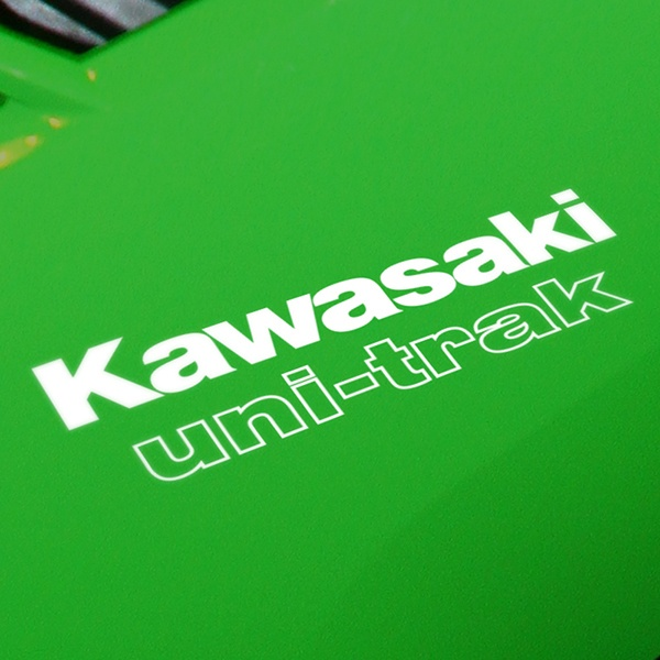 Car and Motorbike Stickers: GPZ-750-Turbo-1985, Kawasaki uni-trac