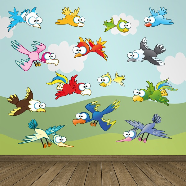 Stickers for Kids: Birds