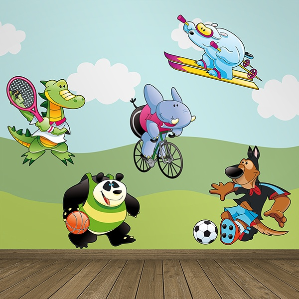 Stickers for Kids: Sports