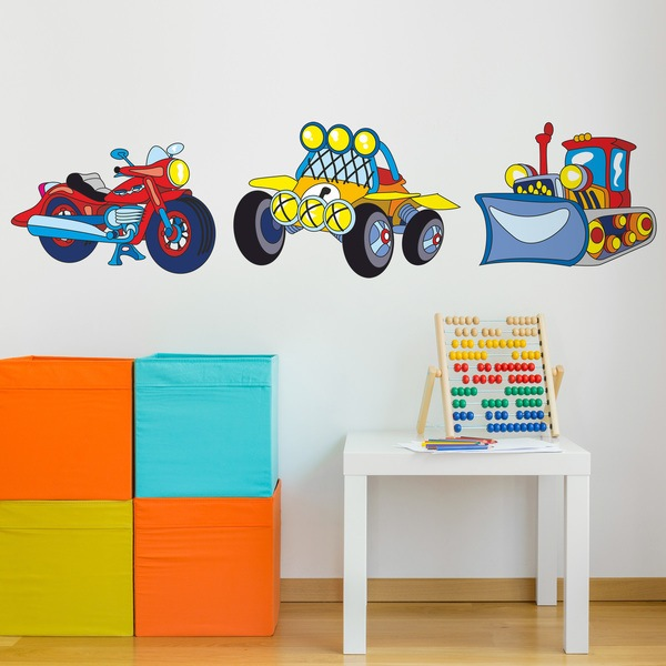 Stickers for Kids: Transportation 06