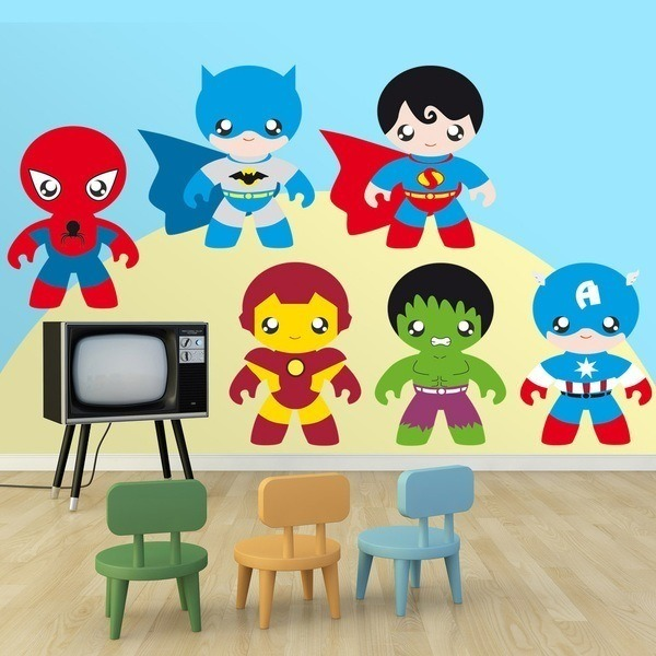 Stickers for Kids: Heroes Kit