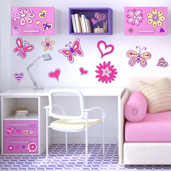 Stickers for Kids: Love