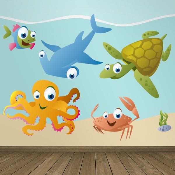 Stickers for Kids: Aquarium 8