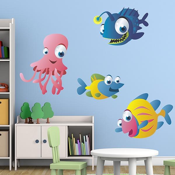 Stickers for Kids: Aquarium 10