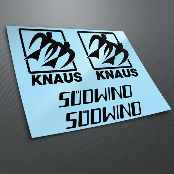 Car and Motorbike Stickers: Kit Knaus Süowino