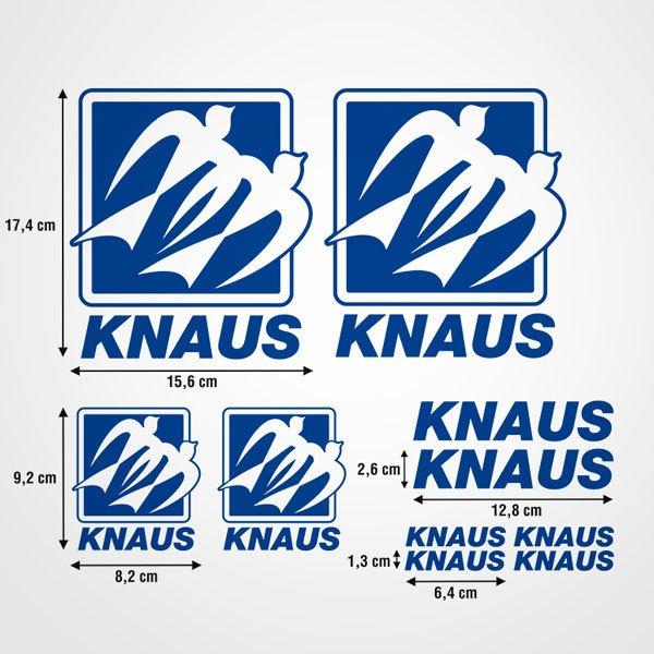 Car and Motorbike Stickers: Kit Knaus 2