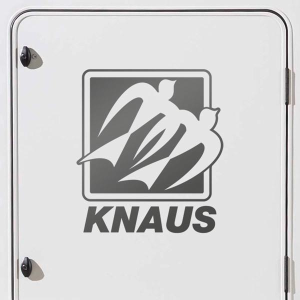 Car and Motorbike Stickers: Knaus 2