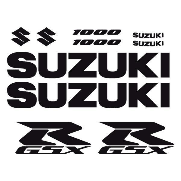 Car and Motorbike Stickers: GSXR 1000-2004
