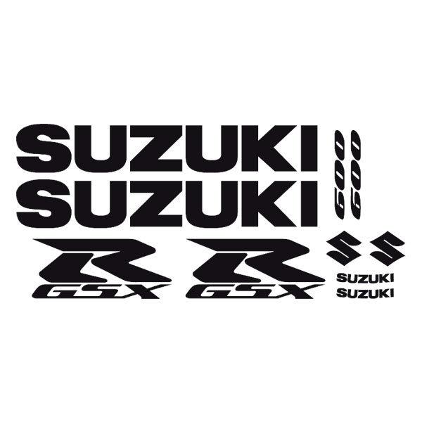 Car and Motorbike Stickers: GSXR600-2004