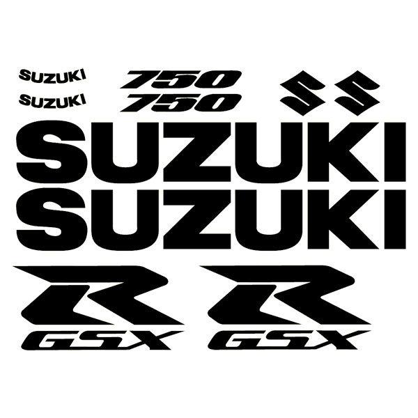 Car and Motorbike Stickers: GSXR 750 2004