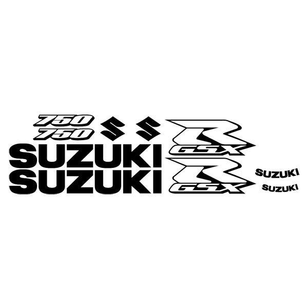 Car and Motorbike Stickers: GSXR 750 2006