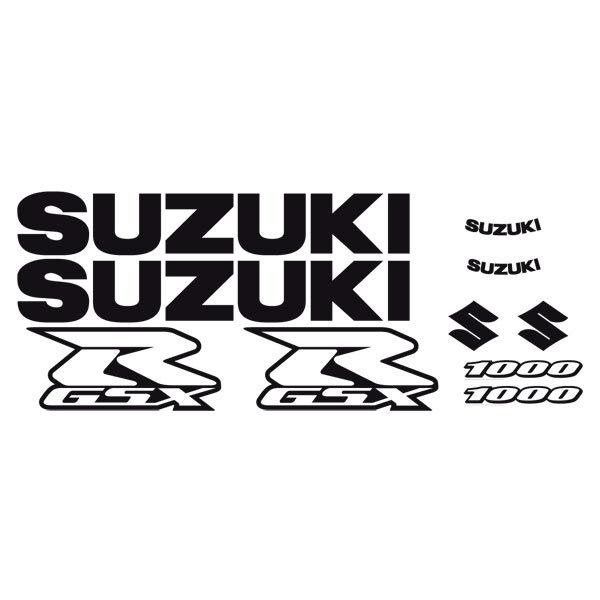 Car and Motorbike Stickers: GSXR 1000 2005-06 II