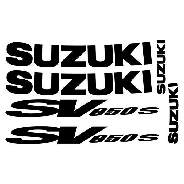 Car and Motorbike Stickers: SV 650 2001