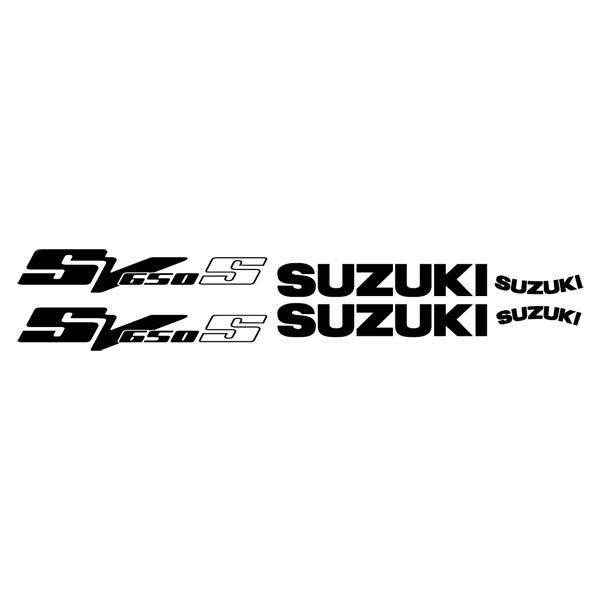 Car and Motorbike Stickers: SV 650 2003