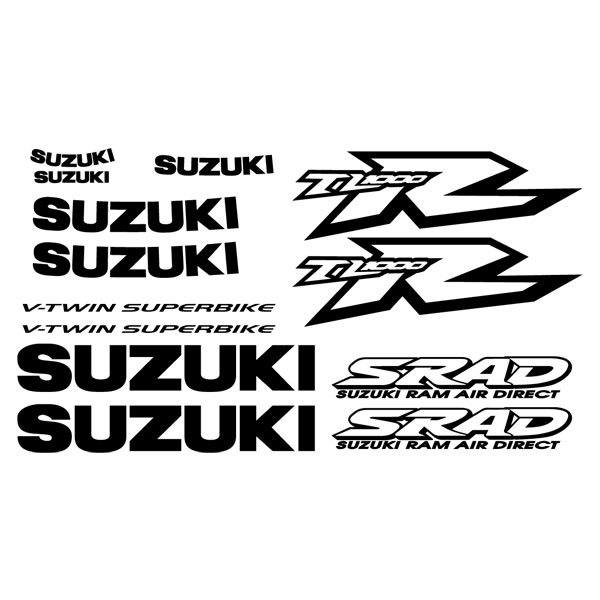 Car and Motorbike Stickers: TL1000R 1998-03