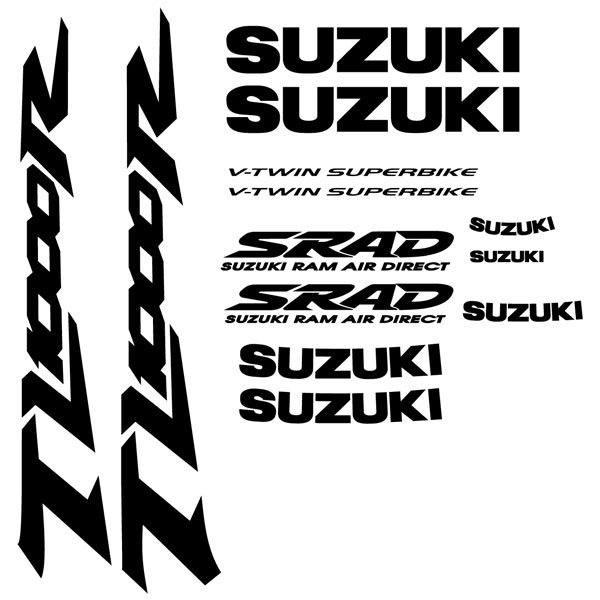 Car and Motorbike Stickers: TL 1000R 1998 Yellow bike