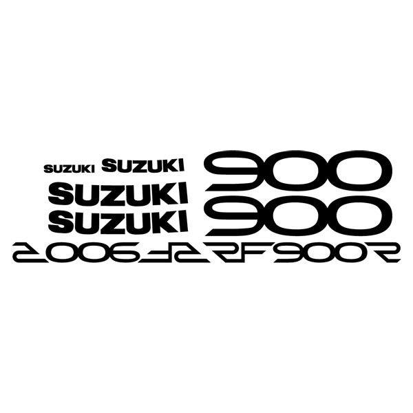 Car and Motorbike Stickers: RF900R 1994-95