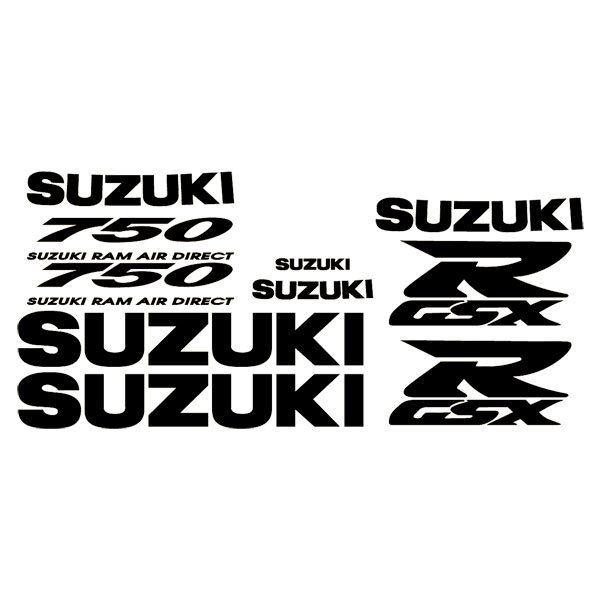 Car and Motorbike Stickers: GSXR 750 1996