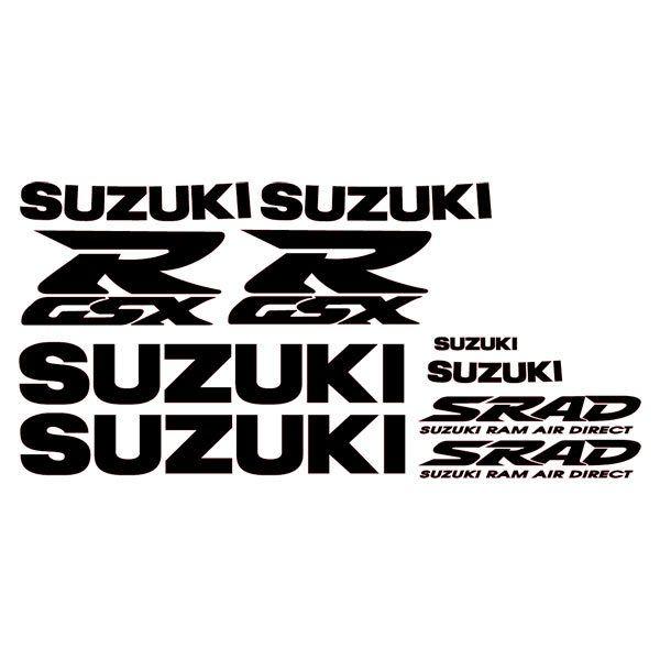 Car and Motorbike Stickers: GSXR 1998 II