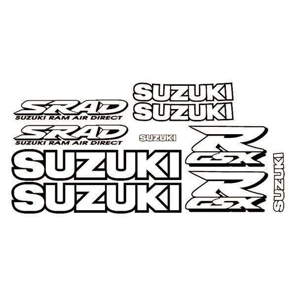 Car and Motorbike Stickers: GSXR 1998