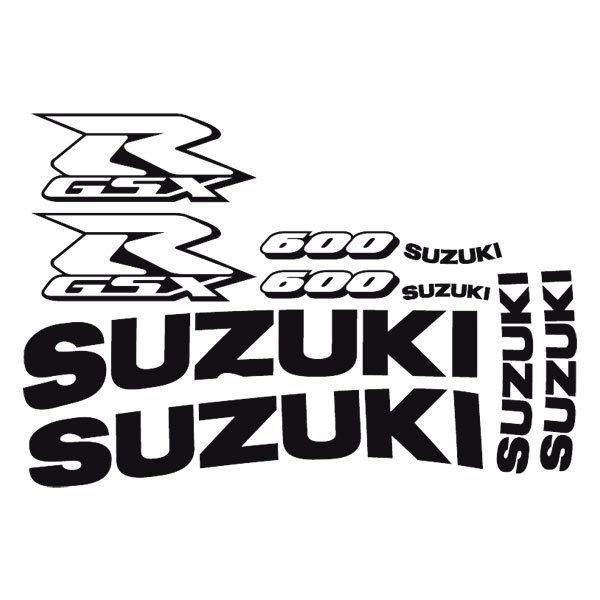 Car and Motorbike Stickers: GSXR 600 2003