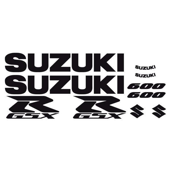 Car and Motorbike Stickers: GSXR 600 2004