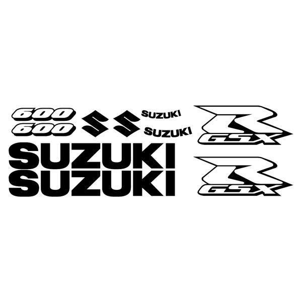 Car and Motorbike Stickers: GSXR 600 2006