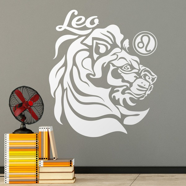 Wall Stickers: zodiaco 27 (Leo)