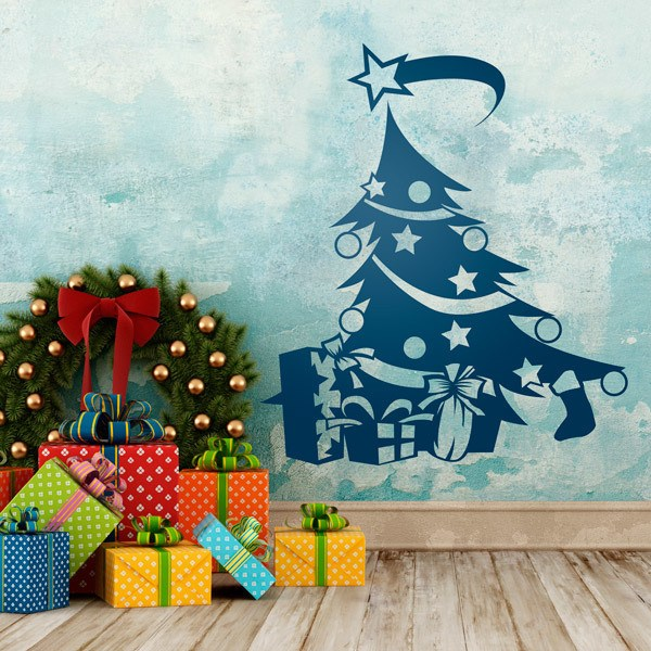 Wall Stickers: Christmas tree