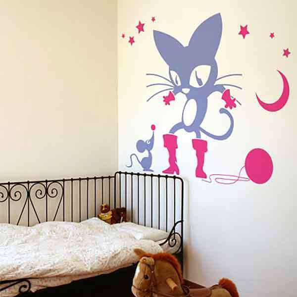 Wall Stickers: Puss in Boots