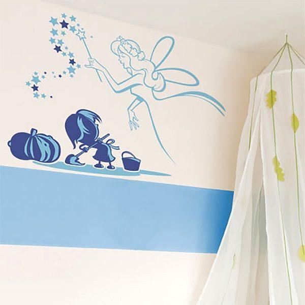 Wall Stickers: Cinderella
