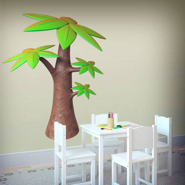 Stickers for Kids: Palm tree