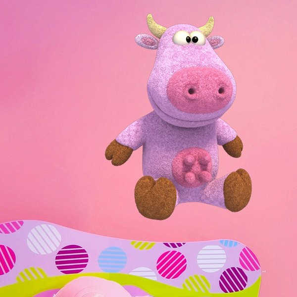 Stickers for Kids: Plush Cow