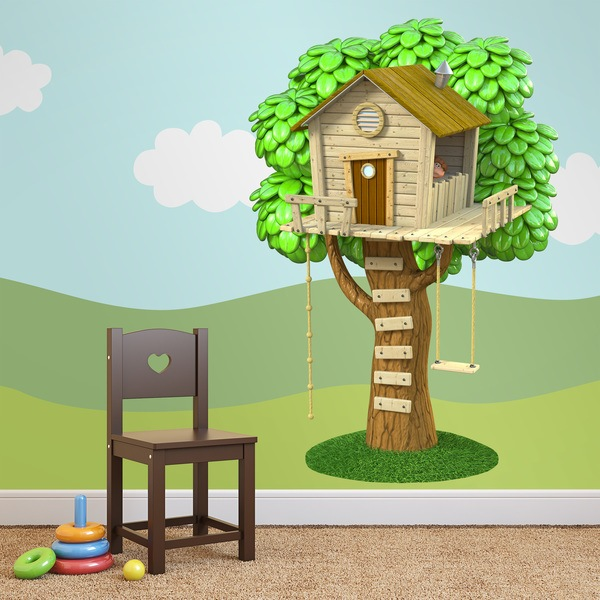 Stickers for Kids: Treehouse