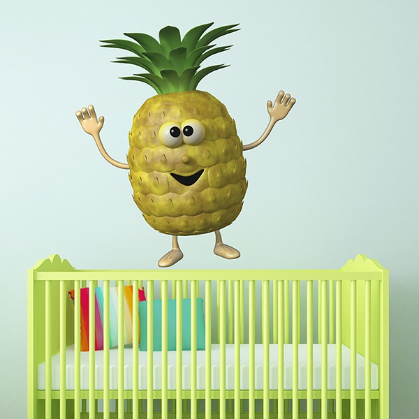 Stickers for Kids: Pineapple
