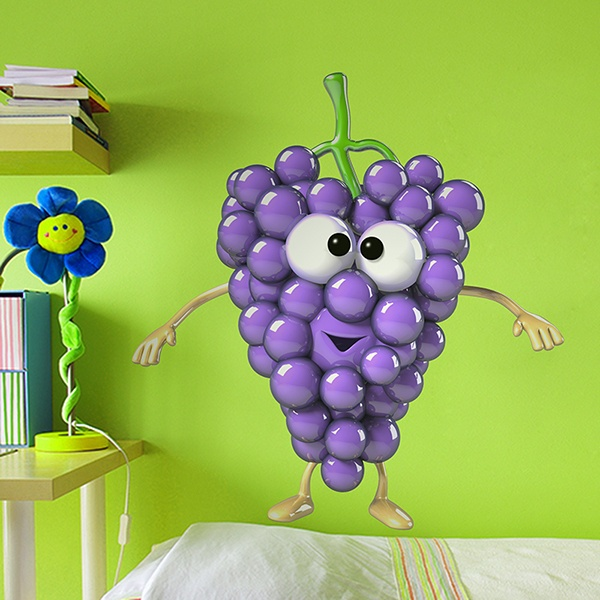 Stickers for Kids: Grapes