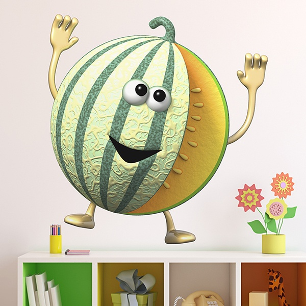 Stickers for Kids: melon