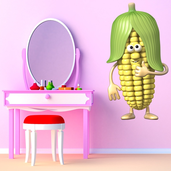 Stickers for Kids: Corn