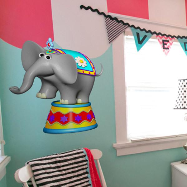 Stickers for Kids: Circus elephant