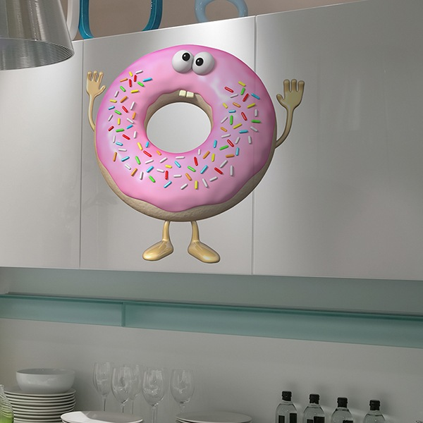 Stickers for Kids: Doughnut
