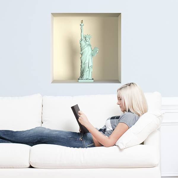 Wall Stickers: Statue of Liberty niche