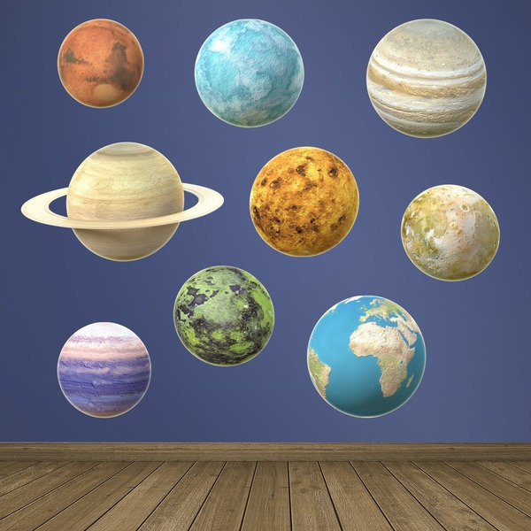 Stickers for Kids: Planets