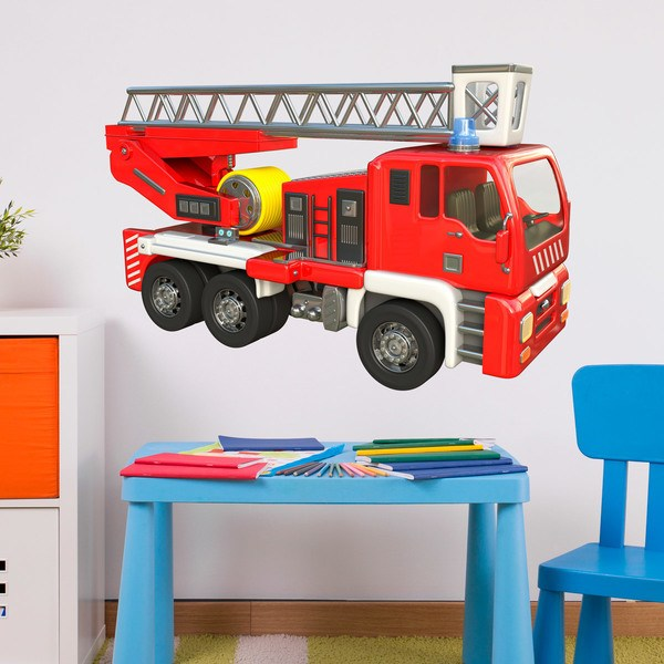 Stickers for Kids: Fire Truck 1